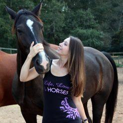 Life, Love, & Horses Tank Top