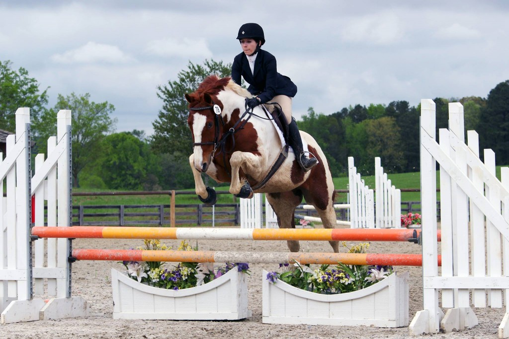 Ainsley Jacobs and JJ Spot at Chatt Hills Eventing