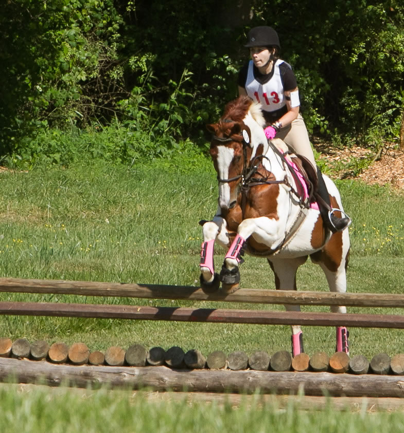 Ainsley Jacobs and JJ Spot, Eventing at Oxer Farm