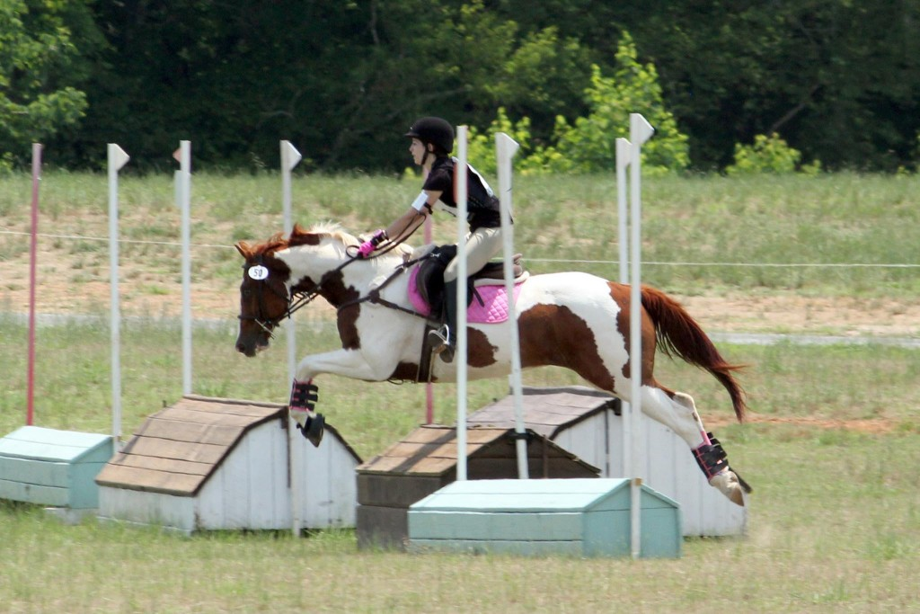 Ainsley Jacobs and JJ Spot, Eventing at Chatt Hills