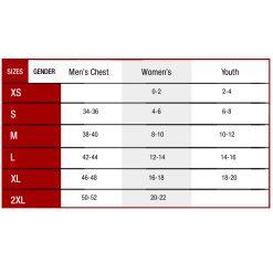 498 size chart