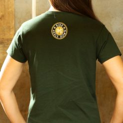 Heels Down Bottoms Up western whiskey t-shirt