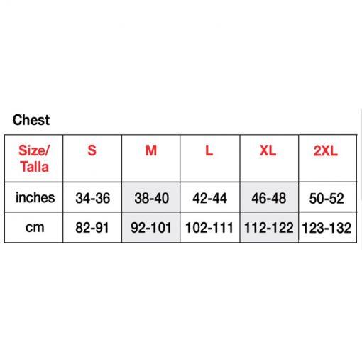 4980 size chart