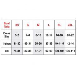 S04V size chart