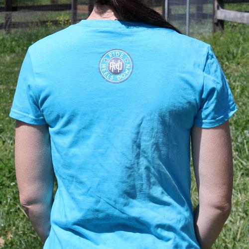 X Halt Salute Breathe dressage t-shirt