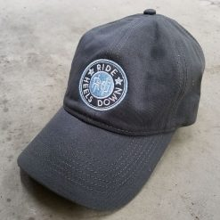 Ride Heels Down RHD logo hat