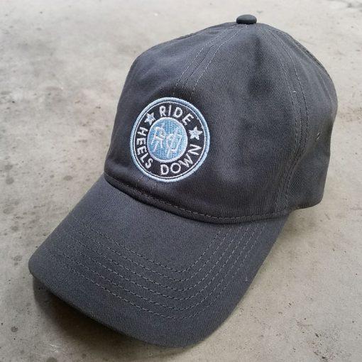 Ride Heels Down RHD logo hat