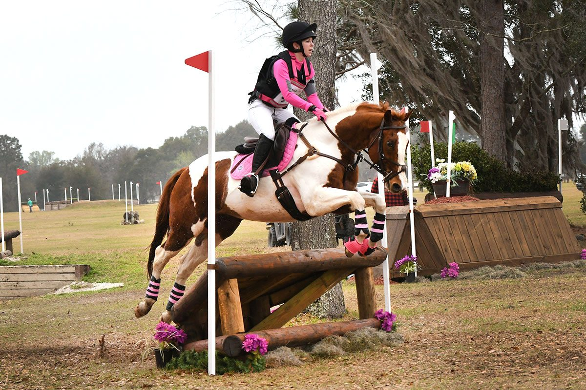Novice eventing at the Florida Horse Park