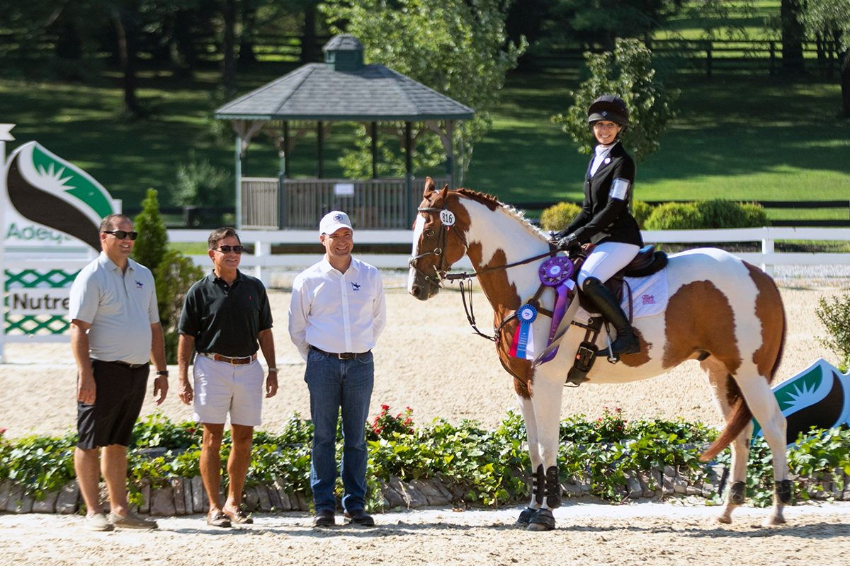 Ainsley Jacobs and JJ Spot at the USEA AEC in Kentucky