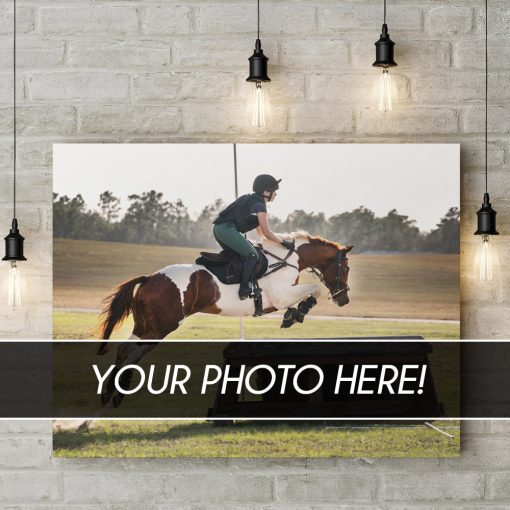 custom equestrian canvas prints