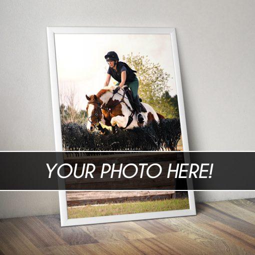 custom equestrian poster prints