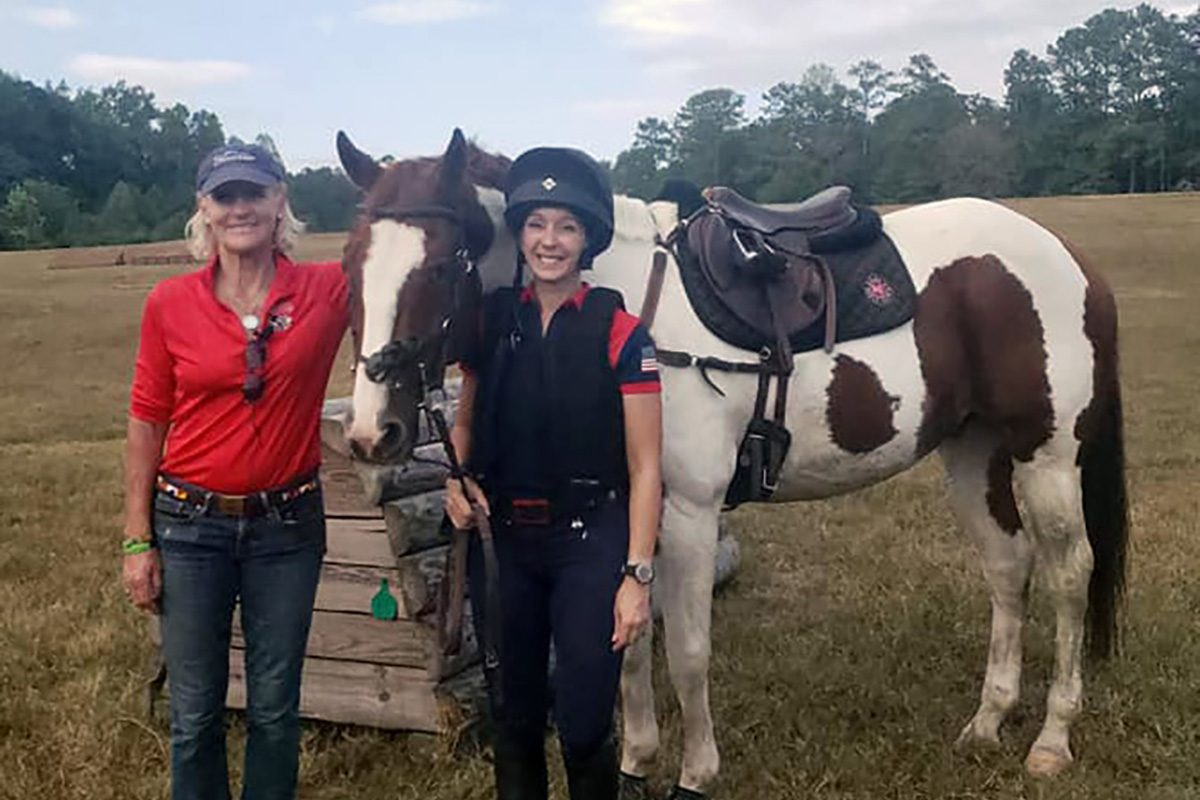 Lucinda Green eventing clinic at Ashland Farm