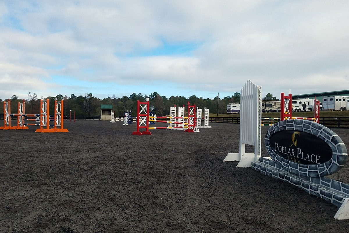 Poplar Place Farm stadium jump course
