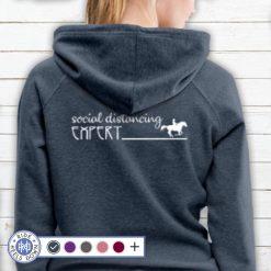 Social Distancing Expert hoodie