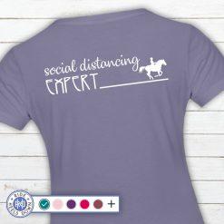 Social Distancing Expert t-shirt
