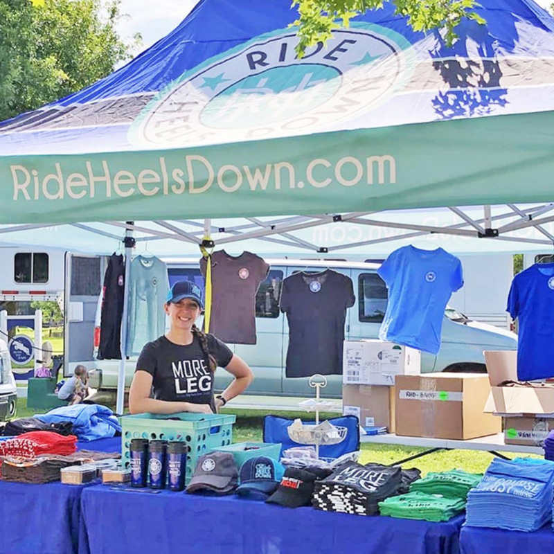 Ride Heels Down Equestrian Apparel and Accessories