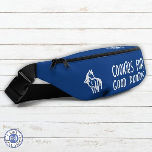 Cookies For Good Ponies Equestrian Fanny Pack