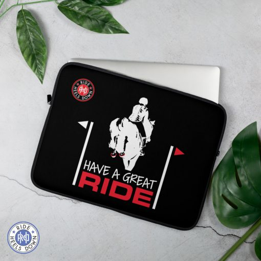 Have A Great Ride Eventing Laptop Sleeve