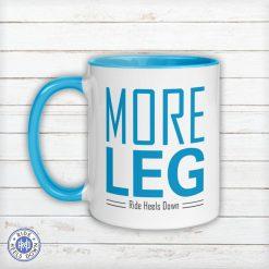 More Leg Mug turquoise