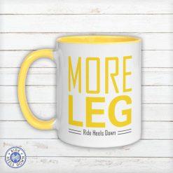 More Leg Mug yellow